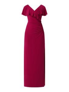 Sukienka Ralph Lauren maxi z krótkim rękawem