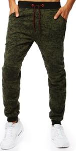 Zielone spodnie Dstreet