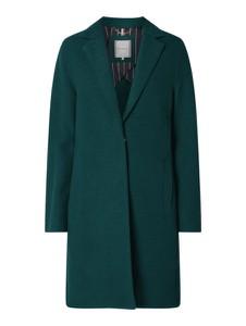 Płaszcz Tommy Hilfiger z wełny w stylu casual