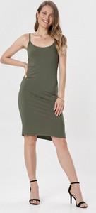 Sukienka born2be mini prosta na ramiączkach