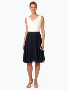 Sukienka Ambiance midi z szyfonu rozkloszowana