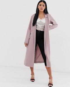 Różowy płaszcz Asos Design