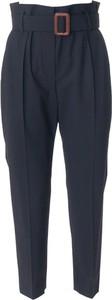 Granatowe spodnie Brunello Cucinelli