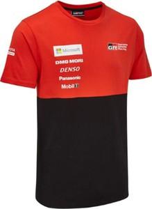 T-shirt Toyota Gazoo Racing z bawełny z krótkim rękawem