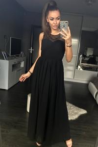 Sukienka Eva&Lola bez rękawów maxi