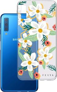 Etui amortyzujące uderzenia do Samsung Galaxy A7 2018, z unikatową grafiką 3D ferya DAISY