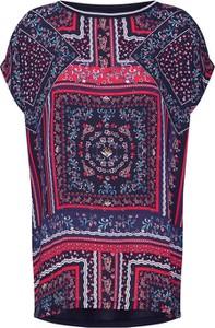Bluzka S.Oliver Red Label z dżerseju z okrągłym dekoltem