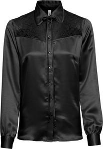 Czarna bluzka bonprix RAINBOW