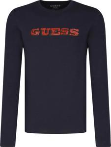 Koszulka z długim rękawem Guess w młodzieżowym stylu