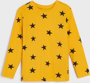 Żółta koszulka dziecięca Sinsay dla chłopców