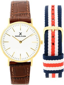 Zegarek unisex DANIEL KLEIN - 10845-2 - DUO - 2 paski
