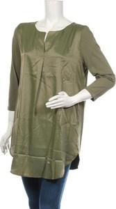 Zielona bluzka Esprit z długim rękawem w stylu casual