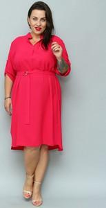 Sukienka KARKO asymetryczna midi