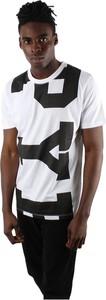 T-shirt Pyrex w młodzieżowym stylu z nadrukiem z bawełny