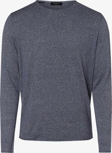 Niebieski sweter Selected z jedwabiu