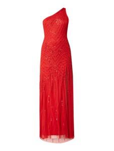 Czerwona sukienka Maya Deluxe maxi bez rękawów