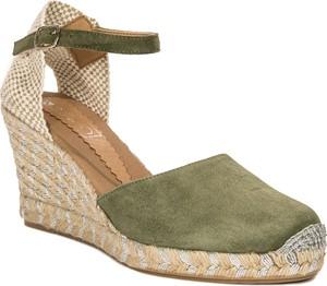 50f6e89297b5f buty na koturnie bez palców - stylowo i modnie z Allani