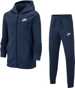 Niebieski dres dziecięcy Nike