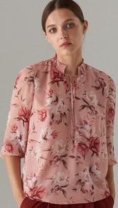 Różowa bluzka Mohito z długim rękawem