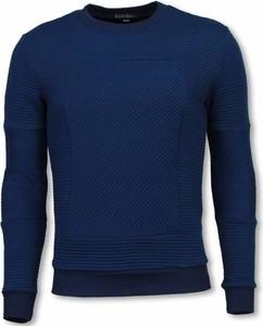 Niebieski sweter Black Number