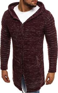 Czarny sweter breezy w abstrakcyjne wzory