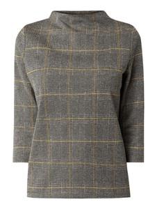 Bluzka Jake*s Casual z bawełny z długim rękawem