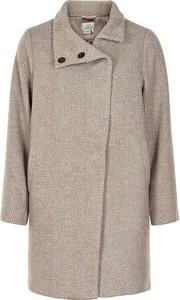 Płaszcz Numph w stylu casual z wełny