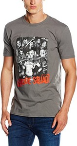 T-shirt Suicide Squad z nadrukiem z krótkim rękawem