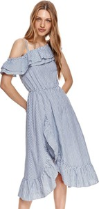 Sukienka Top Secret koszulowa z krótkim rękawem