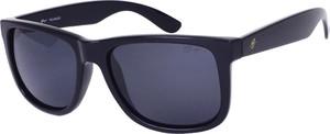 Niebieskie okulary damskie Brugi
