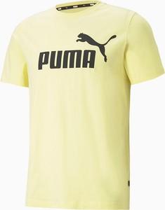 T-shirt Puma z bawełny w sportowym stylu