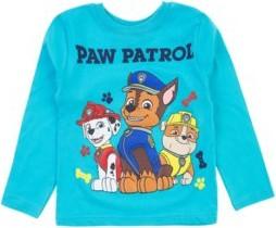 Turkusowa koszulka dziecięca Txm.pl z bawełny