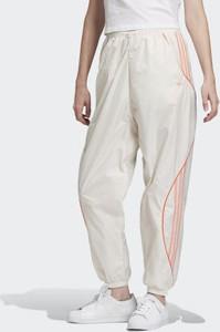 Spodnie sportowe Adidas z dresówki z nadrukiem w sportowym stylu