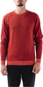 Czerwony sweter Sun 68 z wełny w stylu casual