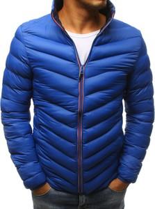 Niebieska kurtka Dstreet w stylu casual