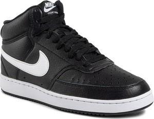 Buty NIKE - Court Vision Mid CD5466 001 Black/White