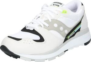 Buty sportowe Saucony sznurowane ze skóry