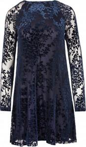Niebieska sukienka Makover mini