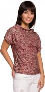 Pomarańczowa bluzka Be z bawełny