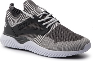 Buty sportowe Dockers ze skóry ekologicznej sznurowane w sportowym stylu