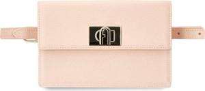 Różowa torebka Furla