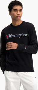 Czarna bluza Champion w sportowym stylu
