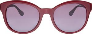 Czerwone okulary damskie Vogue