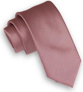 Różowy krawat Angelo Di Monti