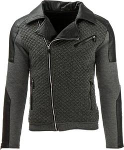 719993a6b7f89 nowa pikowana kurtka ramoneska skóra wstawki - stylowo i modnie z Allani