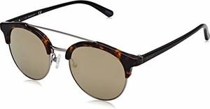 amazon.de GANT męskie okulary przeciwsłoneczne GA7112, brązowe (Dark Havana/Green Mirror), 52