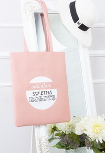 Różowa torebka made2wear