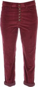 Czerwone jeansy Dondup