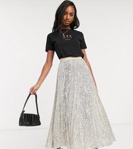 Spódnica Asos midi w stylu casual