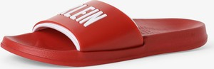 Czerwone buty letnie męskie Calvin Klein